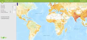 Ejercicios sobre demografía y población mundial con las TIC | ¿Cómo sería el mundo si las naciones con mayor población las ubicamos en los países más grandes extensos? | Scoop.it