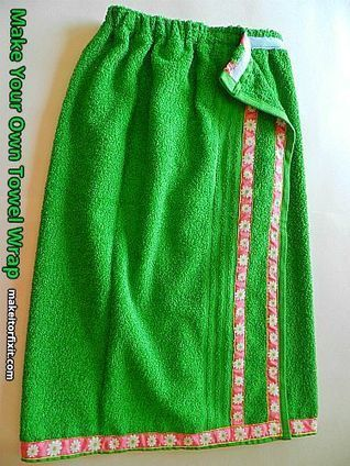 Make Your Own Towel Wrap | Sew Sew Neat | Crafts and DIY | Scoop.it