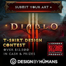 Diablo III T-Shirt Design Contest by Design By Humans   T-shirt Lovers!   Scoop.it