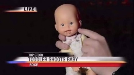 Idaho 3-year-old girl shoots infant sibling in the face | up2-21 | Scoop.it