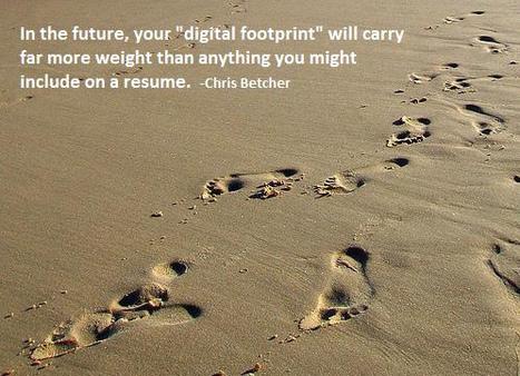 digital-footprint1.jpg (498x360 pixels) | Creating a positive digital footprint for the future | Scoop.it