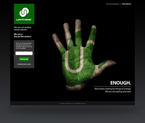"TechCrunch | Anti-Facebook Social Network ""Unthink"" Launches To Public | Psychology of Consumer Behaviour | Scoop.it"