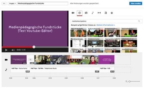 MashUps von offen lizenzierten Youtube-Videos mit dem Youtube-Editor – Medienpädagogik Praxis-Blog | Zentrum für multimediales Lehren und Lernen (LLZ) | Scoop.it