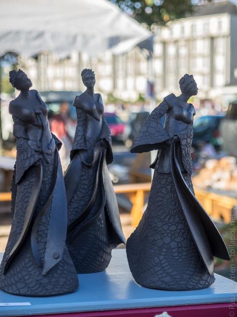 expo. musées et spectacles marché de la céramique - à Locmaria, à Quimper | photo en Bretagne - Finistère | Scoop.it