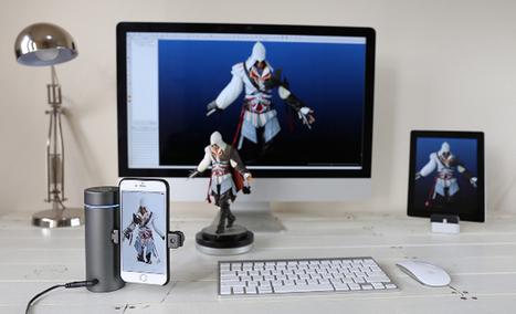 Eora, un scanner 3D de poche compatible avec votre smartphone - 3Dnatives | Web-design et nouvelles technos | Scoop.it