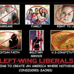 Liberal Utopia...a world where everything sacred is considered extremist...a world without God, Family, Life&the Constitution | Littlebytesnews Current Events | Scoop.it