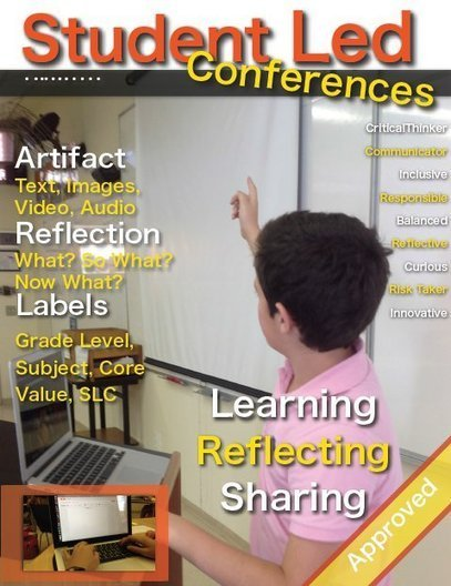 Student Led Conferences: Sick and Tired of Blogs & Reflection? | Electronic Portfolio | Scoop.it