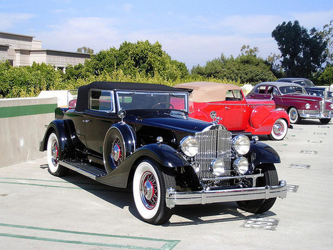 1933 Packard 1005 Convertible Coupe | Voitures anciennes - Classic cars - Concept cars | Scoop.it