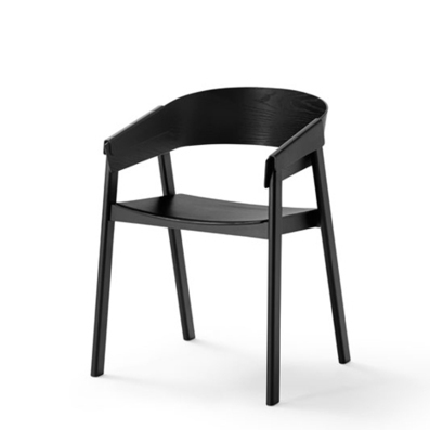 Cover chair with wood folded over the arms by Thomas Bentzen for Muuto | Industrial Design | Scoop.it