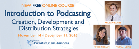 Introduction to Podcasting: Creation, Development and Distribution Strategies | E-Learning and Online Teaching | Scoop.it