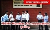 JBIMS De-reservation policy to benefit MAHCET 2015 high scorers in MMS admission | MBA Universe | Scoop.it
