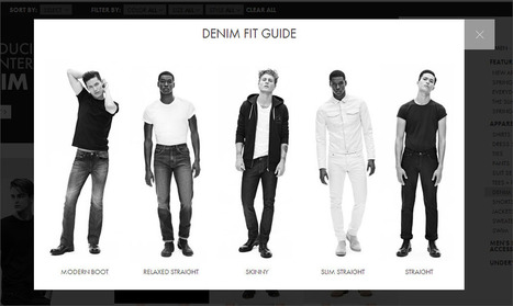 Badge of Honor: Calvin Klein's Denim Fit Guide Ecommerce Outtakes | ECommerce Outtakes | Scoop.it