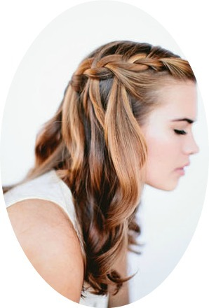 5 Steps To Make A Cascade Waterfall Hairstyle - Aria Gold | Argan Moroccan Oil Treatment Shampoo & Conditioner | Scoop.it