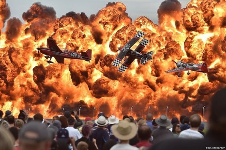 Amazing photo from the Australian Avalon International Airshow | Quirky (with a dash of genius)! | Scoop.it