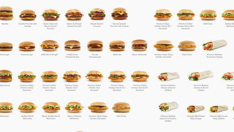 You've Never Seen A McDonald's Menu Look This Good | This is art | Scoop.it