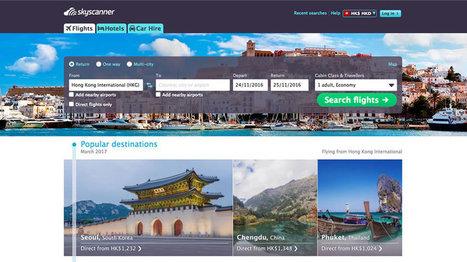 Le chinois Ctrip rachète Skyscanner | L'actualité du tourisme en Val d'Oise | Scoop.it