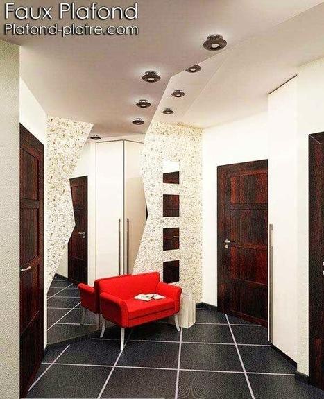 Idée Faux plafond suspendus lumineux | Faux plafond en forme d'un papillon | Scoop.it