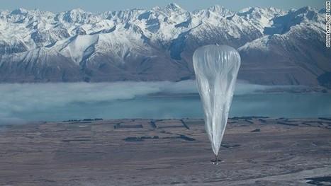 Google lanza experimento de globos que dan acceso a internet ... | Negocios online | Scoop.it