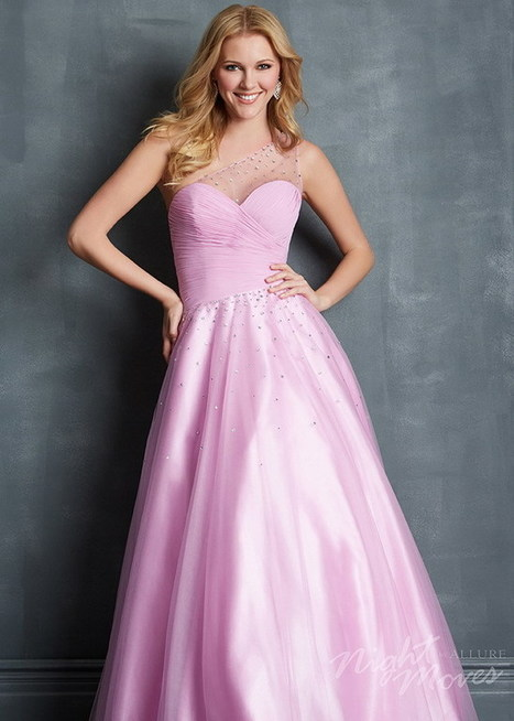 Night Moves 7085 Long Lilac Sheer One Shoulder Beaded Prom Dress [Night Moves 7085 lilac] - $143.90 : 2015 Prom Dresses, 60% off Girls Homecoming Dresses Outlet | prom dresses | Scoop.it