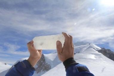 De la glace du massif du Mont-Blanc prélevée pour les générations futures | Planete DDurable | Scoop.it