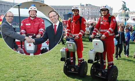 Segway to the rescue! Austria snaps up two wheelers for ambulance team | Gogasfree Green Solutions | Scoop.it