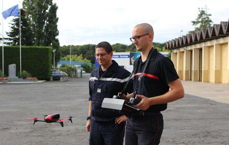 Melun : le drone, nouvelle arme des soldats du feu | Risques majeurs et gestion des sinistres | Scoop.it
