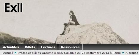 Les exilés italiens et la presse, à Paris entre Seconde République et Second Empire (1849-1859) | Nos Racines | Scoop.it