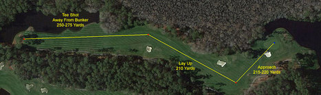 Using Google Earth to Develop Golf Course Playing Strategy | Geo | Scoop.it