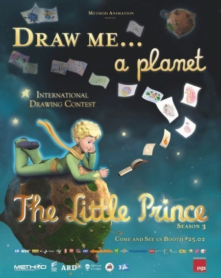 ANIMATION MAGAZINE   Method Launches 'Little Prince' Drawing Contest   The Little Prince   Scoop.it