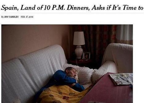 España, vista por «The New York Times»: «El país donde se cena a las 22.00 horas»   La voz de Cuarto I   Scoop.it