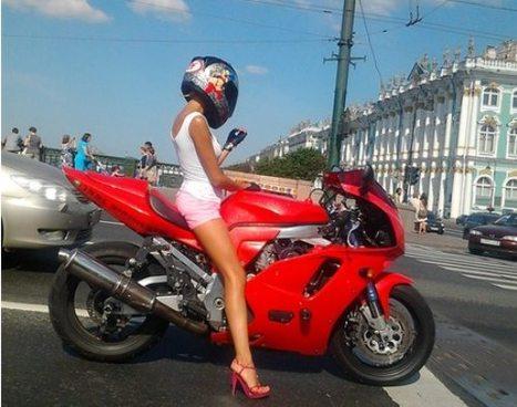 Ivre, droguée et à contresens sur une moto volée ... sans permis non plus...   Mais n'importe quoi !   Scoop.it