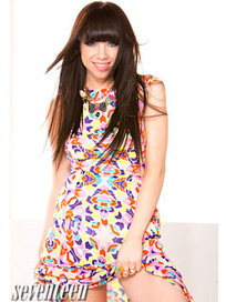 Carly Rae Jepsen in Mara Hoffman For Seventeen | Fashion and Style | Scoop.it