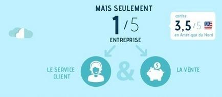 Réseaux sociaux en entreprise selon les professionnels du webmarketing | Campagnes web | Scoop.it