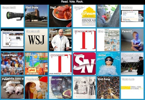 ROCKZi Is Blekko's New Social Content Curation Site: Hybrid Between Pinterest And Flipboard | Social Media C4 | Scoop.it