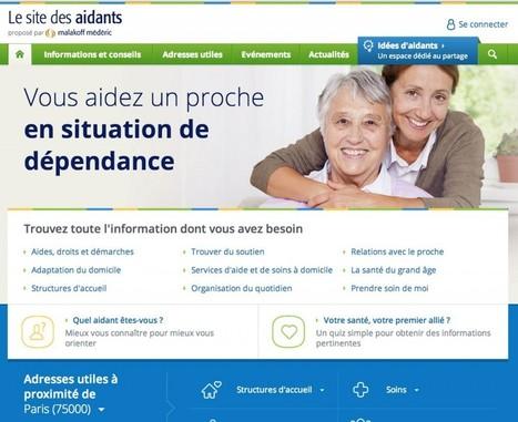 Malakoff Médéric lance lesitedesaidants.fr — Silver Economie   dependance   Scoop.it