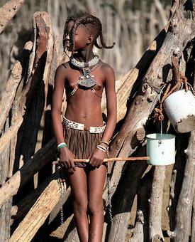 Tribus de África (Mujeres Mursi y Niña Himba) | Ritos del Continente Negro | Scoop.it