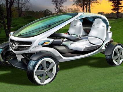 La voiturette de golf de demain selon Mercedes | Concept  design | Scoop.it