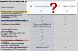 Google classique ou Google Analytics version Universelle ? | Agence Web Newnet | Référencement (SEO - SEA - SEM - SMO) | Scoop.it