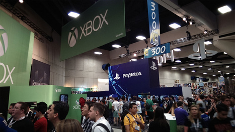 The Xbox One And PlayStation 4 Face Off On The Comic-Con Show Floor   Video Games   Scoop.it