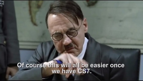 Hitler reacts to the New Adobe Creative Cloud | just for fun | Scoop.it