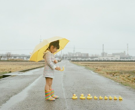 Creative Dad Takes Imaginative Photos Of His 4-year-old Daughter | Design | Scoop.it