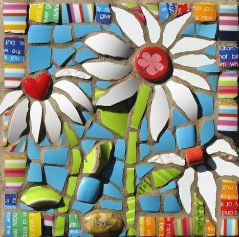 Mosaic madness | pottery fun | Scoop.it