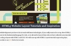 HTML5 Website Layout Tutorials and Inspiration | AcrisDesign | ITC216 - Online Multimedia Project | Scoop.it