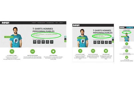 Concevoir ses contenus pour un design responsif | Veille marketing mobile | Scoop.it