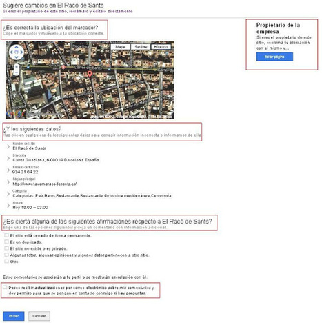 Geoinformación: Como notificar y corregir errores en Google Places, Google Maps y Google Earth. | #GoogleMaps | Scoop.it
