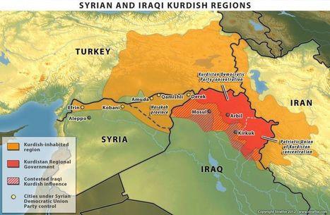 Kurdish regions of Syria, Iraq, and Turkey | AP Human Geography Petrides | Scoop.it