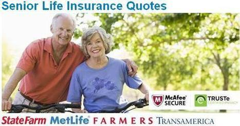 Life Insurance for seniors   Finance advice   Scoop.it