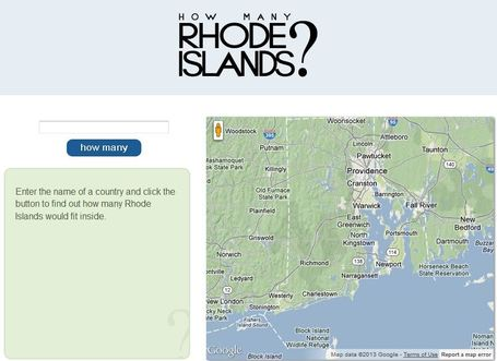 How Many Rhode Islands? | Geography Education | Scoop.it