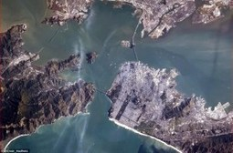 San Francisco Shot By Col. Chris Hadfield From The International Space Station - Socks On An Octopus | SOAO Science And Tech | Scoop.it