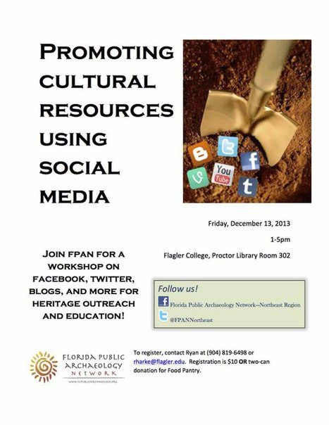 Twitter as a Cultural Resource Outreach Tool | Designing for participation within heritage | Scoop.it